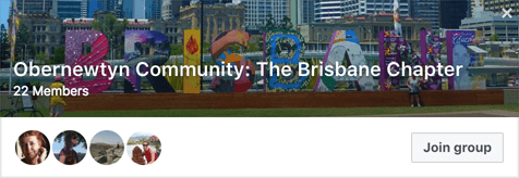 Obernewtyn Community Brisbane Writers' Group