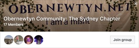 Obernewtyn Community Sydney Writers' Group