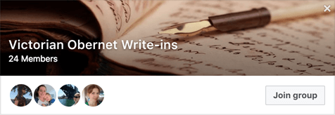 Obernewtyn Community Victorian Writers' Group